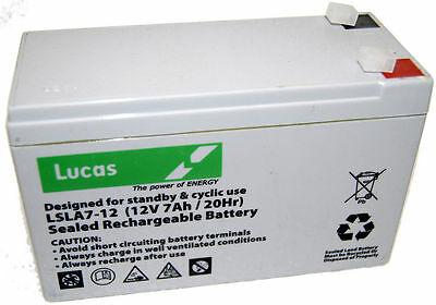 NP7-12 Replacement Battery LUCAS • 17.99£