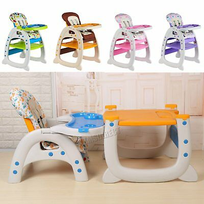 GALACTICA Baby Highchair Infant High Feeding Seat 3in1 Toddler Table Chair New • 57.99£