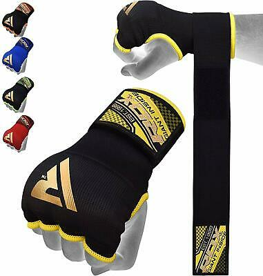 AU20.99 • Buy RDX Inner Gloves MMA Boxing Hand Wrap Fist Gel Bandages Quick Straps Martial Art