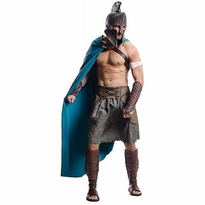 £28.16 • Buy Themistocles Costume Adult Deluxe 300 Movie Spartan Greek Warrior - Fast Ship -