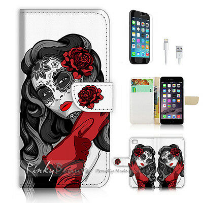 AU12.99 • Buy ( For IPhone 6 Plus / IPhone 6S Plus ) Case Cover P0783 Red Mask Girl