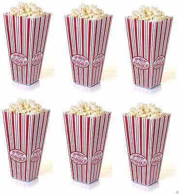 Plastic American Style Reusable Popcorn Holder Box Container Cinema Movie Film • 6.95£