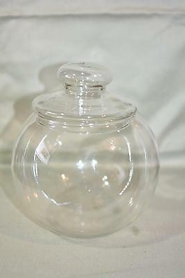 Apothecary Jar Candy Buffet Bar Jar Covered Glass Dish Wedding Party • 12.43£
