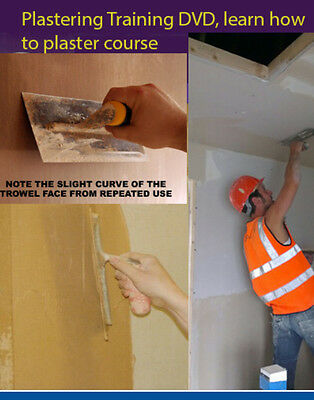 £1.45 • Buy Plastering DVD Learn How To Plaster Course - Training 2 Dvd Set Double 098