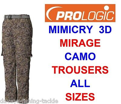 Clearance Prologic Mimicry Mirage Combat Trousers Hunting Shooting Carp Fishing  • 35.50£