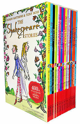 Shakespeare Children's Stories 16 Books Gift Box Set Complete Collection  • 13.40£