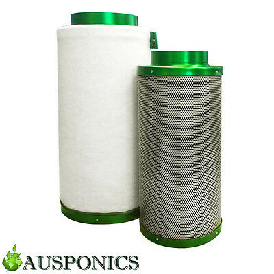 AU169 • Buy PREMIUM FILTAROO CARBON FILTER For Hydroponics Air Activated Odor Control RC412