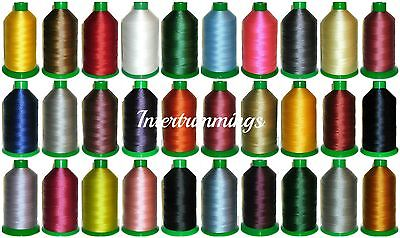 £15.99 • Buy Strong Bonded Nylon Thread 40's, 3000mtrs, Upholstery, Assorted Cols, Art 00908