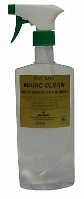 GOLD LABEL MAGIC CLEAN (500ml) Horse Pony Dry Shampoo Dirt Stain Remover • 11.83£