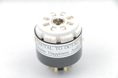 $ CDN17.22 • Buy 1pc  Loctal TO Octal Tube Converter Adapter For Your Tester(Not 7N7 Adapter)