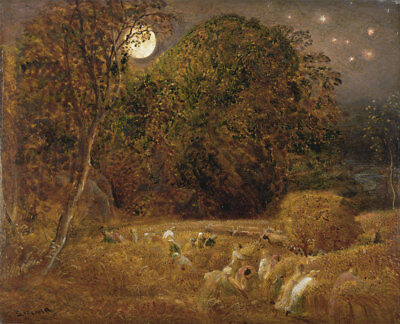 Samuel Palmer :  The Harvest Moon  (1833) — Giclee Fine Art Print • 14.84£