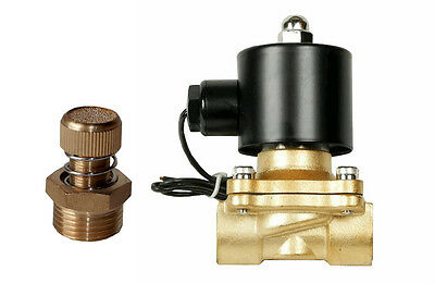 $19.76 • Buy Air Ride Suspension Brass Valve 3/8 Npt Electric Solenoid With Slow Down Dump