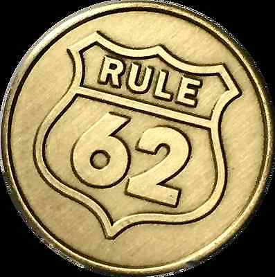 $1.99 • Buy Rule 62 Don't Take Yourself Too Damn Serious AA Chip Sobriety Medallion Coin