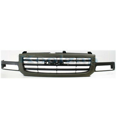 $172.95 • Buy 03-07 Sierra Pickup Truck LD Front Grill Grille Assembly Gray GM1200476 19130790