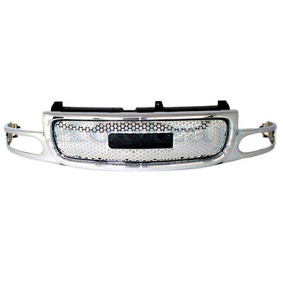 $261.95 • Buy 01-06 Yukon Denali Front Grill Grille Assembly Chrome/Silver GM1200510 19130789