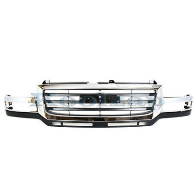 $307.95 • Buy NEW 03-07 Sierra HD Pickup Truck Front Grill Grille Assembly GM1200568 19130795