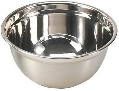 £15.99 • Buy Large 6 Litre Stainless Steel Mixing Bowl 31cm Professional Range