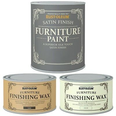 £12.55 • Buy Rust-Oleum Wood Furniture Paint Superior Silk Touch Satin Finish Water Based