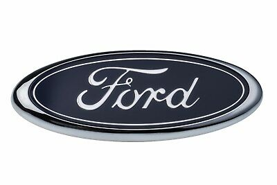 $35.94 • Buy 1998-2004 Ford F150 F250 Front Grille Blue Ford Oval Grill Emblem OEM E7TZ8213BB