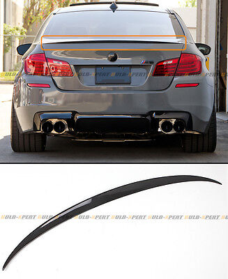 $103.99 • Buy For 11-16 BMW F10 5 Series 535i 528i Carbon Fiber M5 OE Style Trunk Spoiler Wing