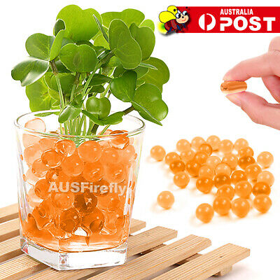 AU5.95 • Buy 10000 Orbeez Crystal Soil Water Balls Jelly Gel Beads For Vase Home Wedding