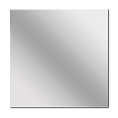 Modern Square Acrylic Mirror Shatter Resistant Wall Decor • 4.34£