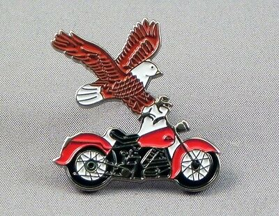 Chopper And Eagle Pin Badges • 2.85£