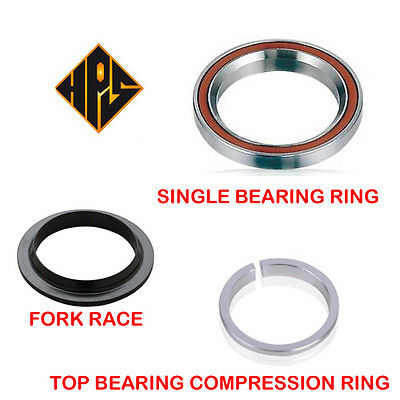 Stunt Scooter 11/8  Sealed Bearing Ring Threadless Headset Fork Race Compression • 4.99£