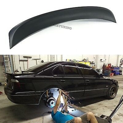$149 • Buy Rear JDM Boot Trunk Ducktail Spoiler Wing Lid Lip (Fits BMW E39 Sedan And CSL)