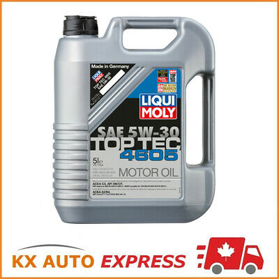 $ CDN113.99 • Buy Liqui Moly Top Tec 4605 SAE 5W-30 Fully Synthetic Engine Oil 5L 2244