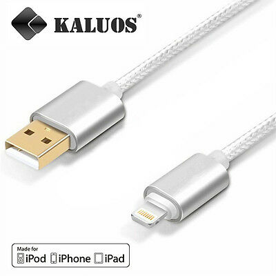 £4.16 • Buy Original Kaluos Charging USB Cable For IPhone 8 6S 5S 7 X 6 IPad Power Data Lead