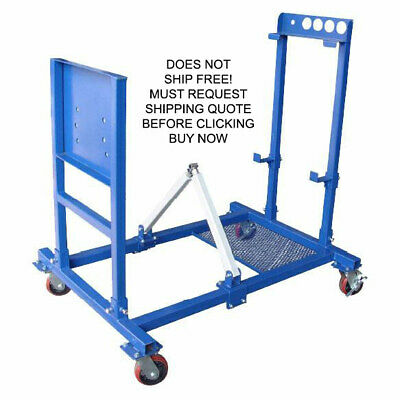 NEW Kernel Engine Motor Run Dyno Test Tuning Mobile Dollie Mount Repair Stand • 690.99$
