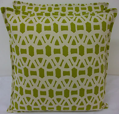 Fabulous Cushion Cover In Harlequin Lace,olive & Neutral • 12£