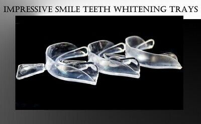 AU32.18 • Buy 20 Moldable Teeth Trays | Thermoforming Mouth Trays Teeth Whitening Bleaching