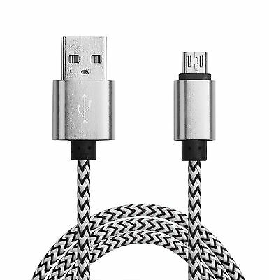 $ CDN8.37 • Buy Long Data Charger Micro USB Cable For Android HTC Samsung Galaxy S5 S6 S7 Edge