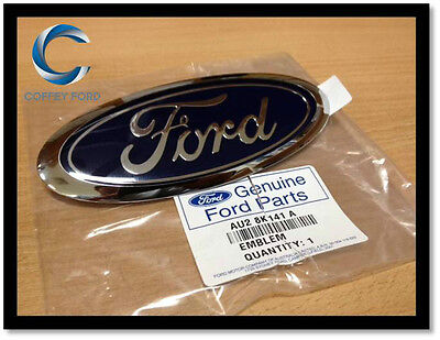 AU47 • Buy Genuine  FORD  Front Grille Oval Badge. Falcon AU/BA/BF, Territory SX/SY. 145mm