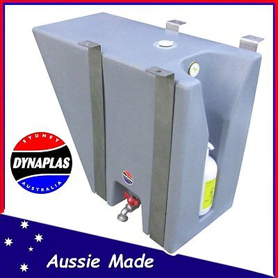 AU299 • Buy Small Silver Ute Underbody Poly Water Tank 30 L 4x4 4wd Soap Holder Tray Top