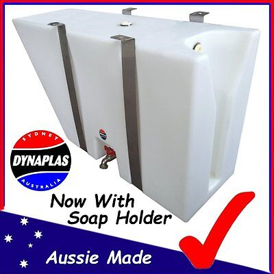 AU299 • Buy Large White Ute Underbody Poly Tray Top Water Tank 50 Litre 4x4 4wd Soap Holder
