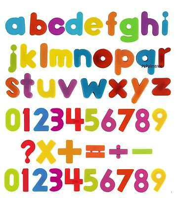 Kids Learning Teaching MAGNETIC Toy Letters & Numbers Fridge Magnets Alphabet • 2.49£