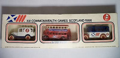 £20.13 • Buy Lledo Commonwealth Games Diecast Toy Truck Commemorative Set Car Bus Lorry 1986