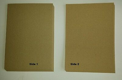 £6.83 • Buy A5 Natural 100% Recycled Brown Kraft Craft Card 280gsm - Weddings, Invitations