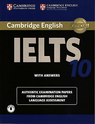 £36.44 • Buy Cambridge IELTS 10 ESOL Official Exam Papers W Answers & Downloadable Audio @NEW