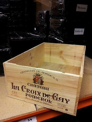 £17.95 • Buy  1 X French 12 Bottle Large Wooden Wine Crate / Box -- Planter  Hamper Storage**