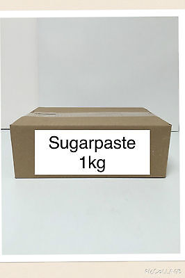1kg Sugarpaste Ready To Roll Fondant Icing Sugar Paste  • 5.99£