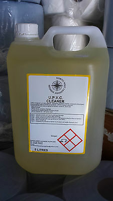 BEST VALUE 5 Litre Upvc Cleaner,pvc Plastic,window Frame Cleaner Free Delivery • 17.95£