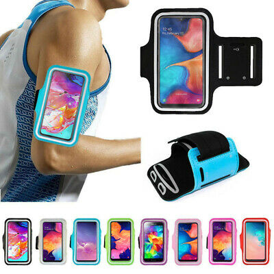 Gym Running Jogging Arm Band Sports Case Holder Strap For Samsung Galaxy Phones • 5.99£