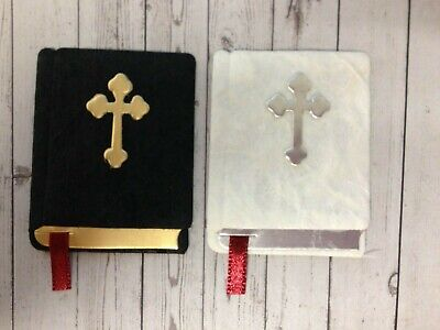 £2.25 • Buy 4 Holy Bibles Religious Card Making Scrapbook Craft Embellishments Toppers