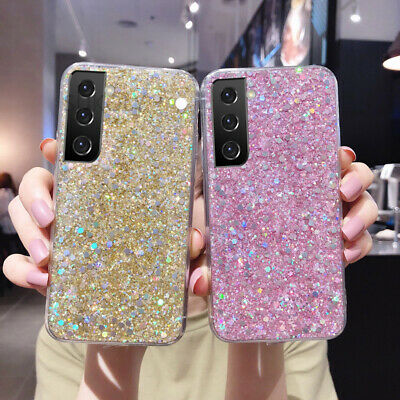 $ CDN4.95 • Buy For Samsung Galaxy S9 S8 S10 Plus Note 9 Bling Glitter Soft Gel Phone Case Cover