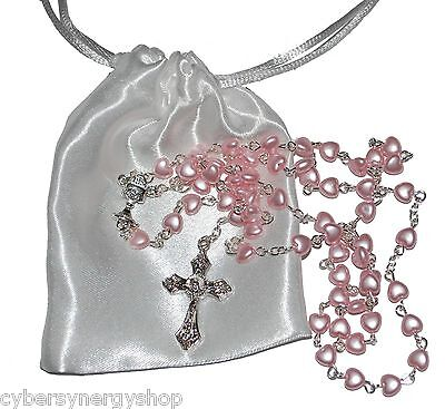 Baby 1st Rosary - Baptism - First Holy Communion Beads Girls Boys Gift Present  • 4.99£