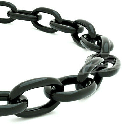 £5.66 • Buy 6.0mm X 42mm X 12mm BLACK HEAVY DUTY THICK STEEL WELDED CHAIN LINK HANGING FENCE